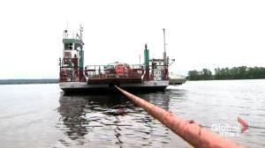 Gagetown ferry to run again in July