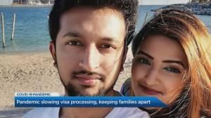COVID-19 slowing visa processing and keeping families apart