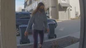 Porch pirate caught on security camera in Kelowna (00:40)