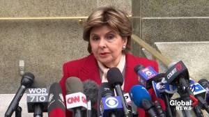Allred says judge 'very upset' after Weinstein found texting in court