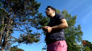 Halifax man shares video of his alleged assault by man he reported for domestic abuse (02:20)