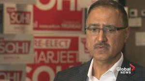 Sohi 'felt pain' when he saw images of Trudeau in racist makeup