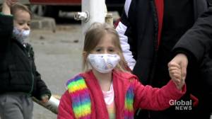 Petition calls for masks to remain in Nova Scotia schools (01:52)