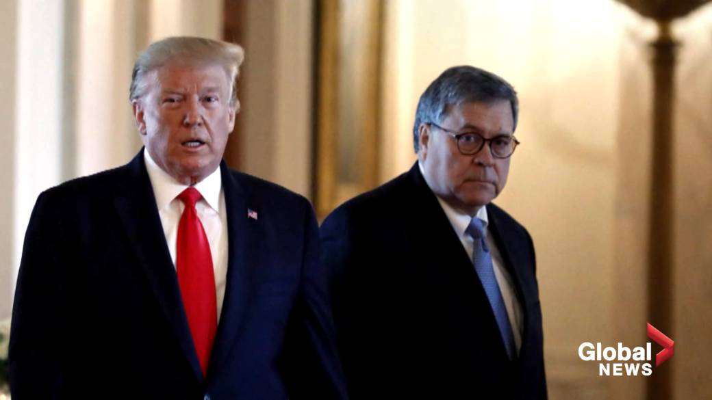 Trump's renewed attacks on Justice Department won't make Barr resign: White House