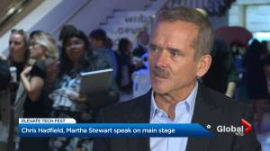 Michelle Obama, Martha Stewart & Chris Hadfield attends Toronto's Elevate Tech Fest