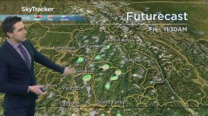 Kelowna Weather Forecast: April 23