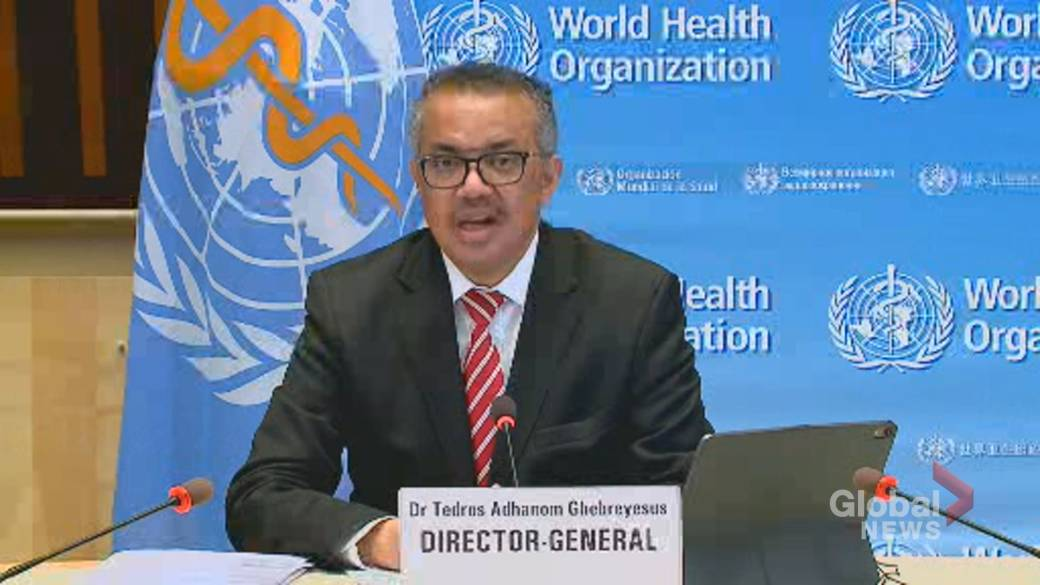 Click to play video 'Coronavirus: WHO director warns against pandemic complacency amid vaccine rollout'
