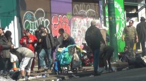 Vancouver mayor calls for $30-million in emergency funding to house homeless (01:45)