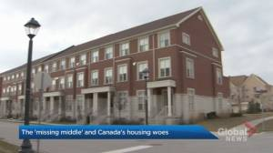 How the 'missing middle' could solve problems in Canada's biggest housing markets (01:50)