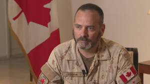 Canadian commander in Iraq says 'there has been a significant shift' since Iran bombing