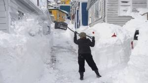 NL digging out after record-breaking snowfall