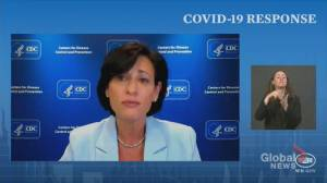 CDC director says withholding access to 3rd COVID-19 shot for people in high-risk settings would 'worsen inequalities' (01:01)