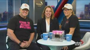Dorval self-defence school helps anti-bullying efforts on pink shirt day