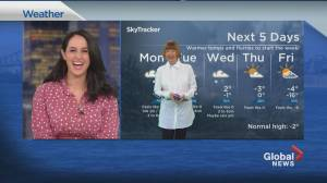Global News Morning weather forecast: February 22, 2021 (01:26)