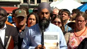 Federal Election 2019: NDP Jagmeet Singh vows to end fossil fuel subsidies if elected