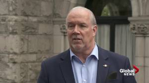 Global News viewers ask B.C. premier questions about travelling during COVID-19