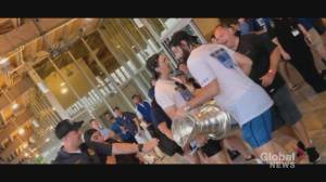 The Stanley Cup is back where it belongs, for now (02:04)