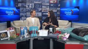 INBETWEEN magazine editor Rachel Naud visits Global News Morning