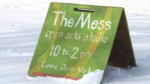 "Kingston's ""the Mess"" art studio celebrates it's 10th anniversary (02:02)"