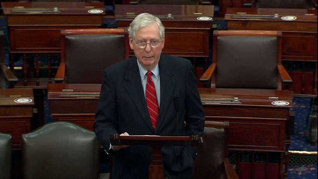 Click to play video 'Coronavirus: U.S. Congress reaches deal on $900B COVID-19 relief package'