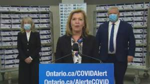 Coronavirus: Abbott ID NOW rapid tests to be used in outbreak investigations in Toronto and Peel Region (00:35)