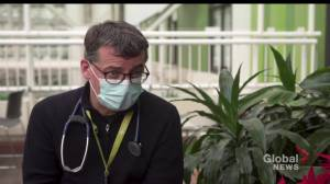 Edmonton doctor concerned with 4th COVID-19 ward opening at U of A Hospital (01:08)