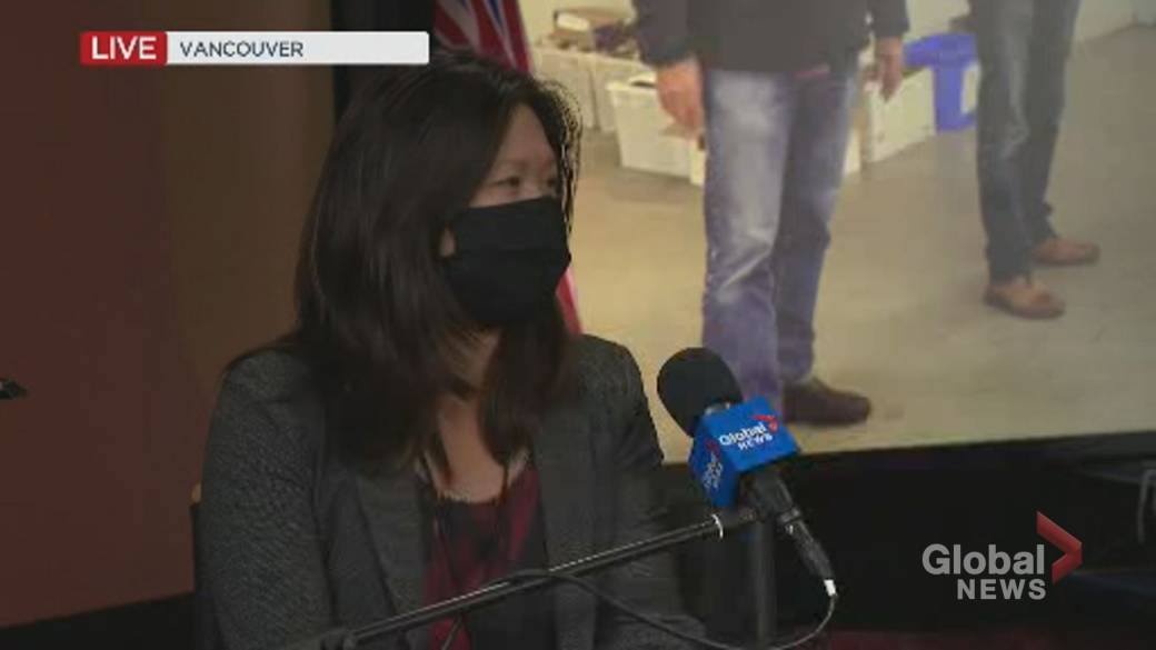 Click to play video 'B.C. election 2020: Bowinn Ma addresses incident where she experienced sexist comments from Liberal candidate'