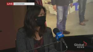 B.C. election 2020: Bowinn Ma addresses incident where she experienced sexist comments from Liberal candidate (01:21)