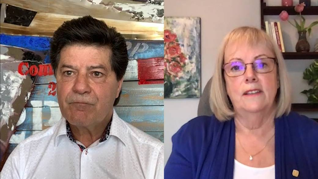 Click to play video: 'Unifor, Canadian Medical Association presidents on the importance of paid sick leave'