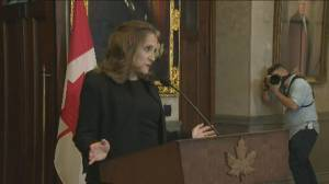 Economic challenges facing Freeland as finance minister (02:46)