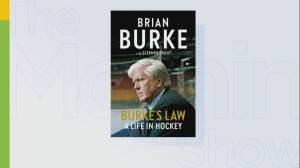 Hockey legend Brian Burke's new book dedicated to his late son (06:40)