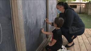 Coronavirus: City of Toronto-run childcare centres operating under new protocols (02:04)