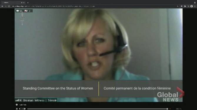 Click to play video: Maj. Brennan says Vance told her he was 'untouchable'