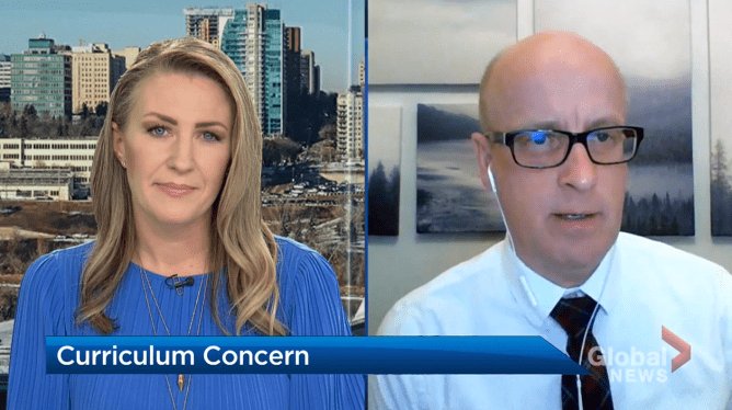 Click to play video: Alberta Teachers' Association says vast majority of educators unhappy with UCP curriculum
