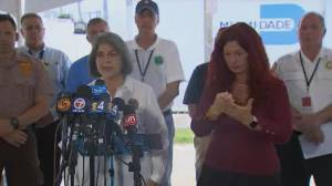 Death toll in Surfside building collapse rises to 64 as 4 more bodies found (03:34)