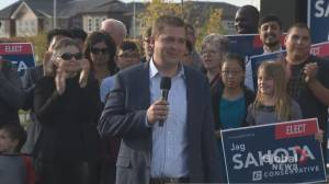 Federal Election 2019: Scheer says repealing carbon pricing will be first job as prime minister