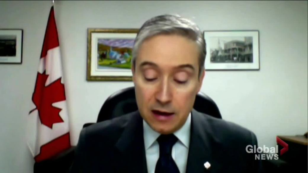 Click to play video: 'Canada creates coalition with 57 countries to declare arbitrary detentions immoral'