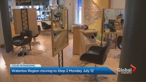 Waterloo Region moves to Step 2 of reopening on Monday (01:53)