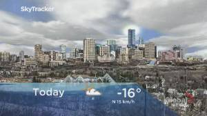 Edmonton early morning weather forecast: Monday, February 17, 2020