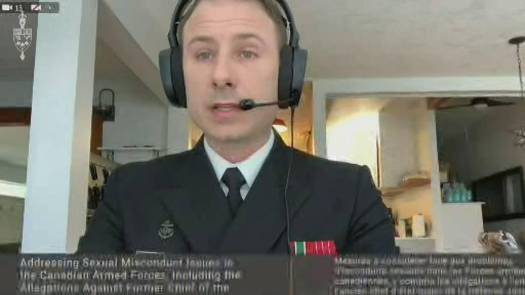 Click to play video: 'Whistleblower testifies at military investigation into misconduct'