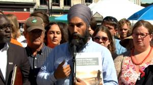 NDP's Jagmeet Singh on dealing with foreign meddling, fake news during election