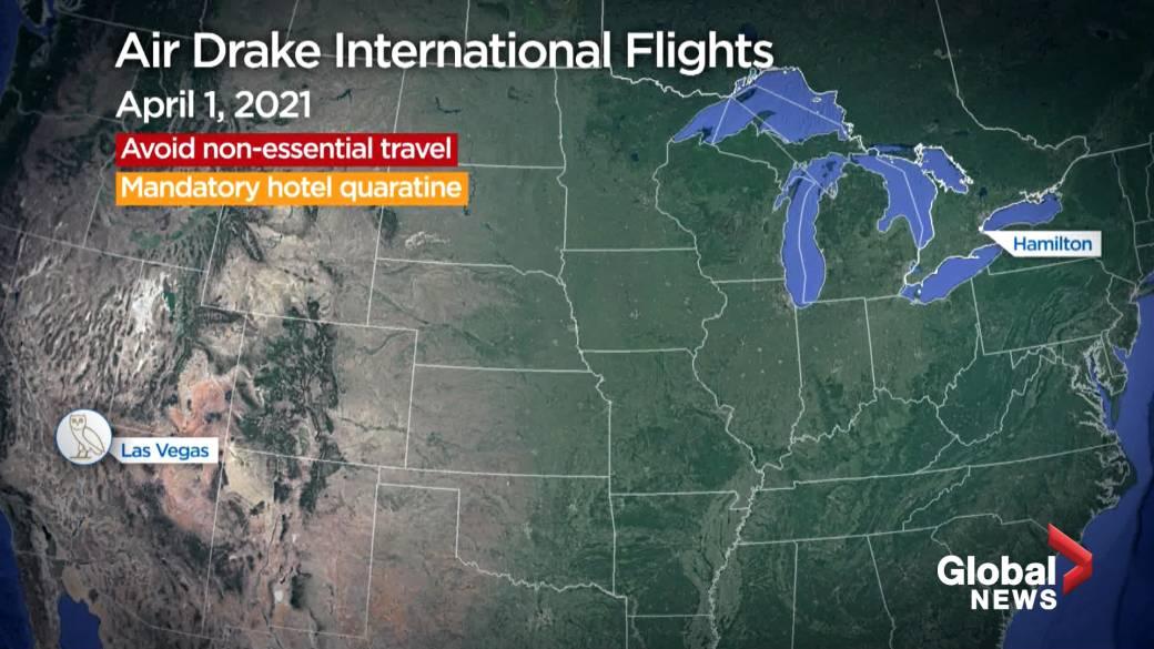 Click to play video: 'Air Drake International Flights'