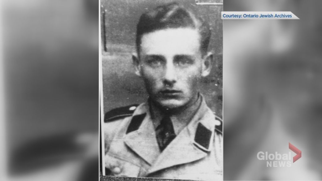 Click to play video: 'Former Nazi dies in Waterloo, Ont.'