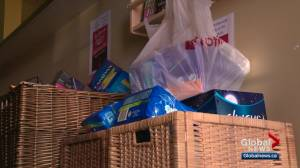Edmonton will provide free menstrual products in city buildings by June 16 (02:44)