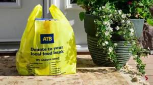 Edmonton Food Drive asking residents to leave donations on their doorstep