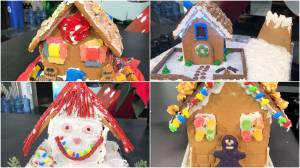 Global News Morning Calgary gingerbread house competition: house reveal