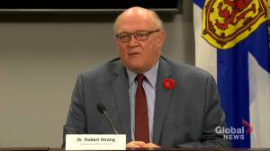 Nova Scotia reports 16 active cases, no community spread identified (01:51)