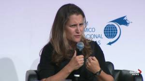 Freeland points to 'modest but positive' developments in dispute with China