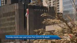 1 year since first COVID-19 death in Toronto (02:03)