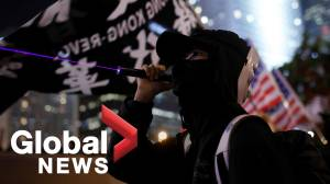 """Thousands in Hong Kong mark six months of pro-democracy protests at """"United We Stand"""" rally (02:17)"""